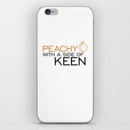 Peachy Keen iPhone Skin