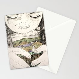 MOUNTAIN MILK Stationery Cards