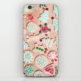 Christmas Cookies iPhone Skin