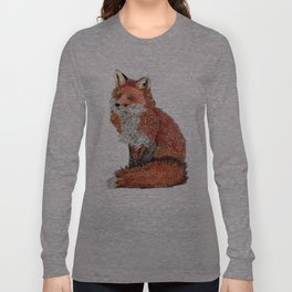 Paisley Fox Long Sleeve T-shirt