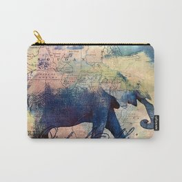 Elephants Journey Carry-All Pouch