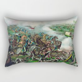 Civil War -- Battle of Five Forks Rectangular Pillow