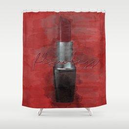 Flawless I Woke Up Like This Shower Curtain