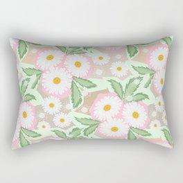 Chamomiles. Pastel'. Rectangular Pillow
