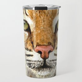 Noel Bobcat - Run Free Travel Mug