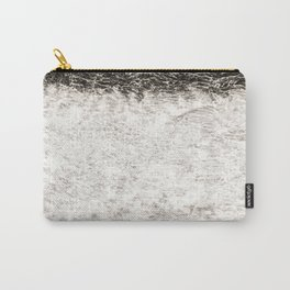 Abstract Texured Canvas Carry-All Pouch