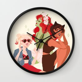 Sirens Wall Clock
