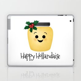 Happy Hollandaise Laptop & iPad Skin