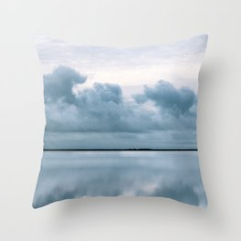 Epic Sky reflection in Iceland - Landscape Photography Throw Pillow