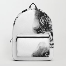 Skull and Octopus Together Forever by annmariescreations Backpack