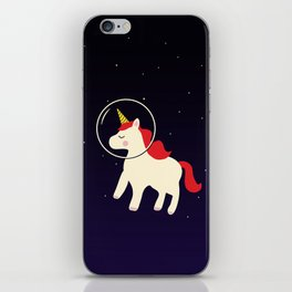 Space Unicorn iPhone Skin