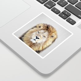 Lion 2 - Colorful Sticker