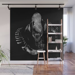 Aliens Here Wall Mural
