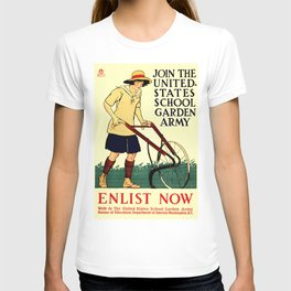 Join the US School Garden Army T-shirt