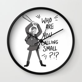 Ace McShane - The Seventh Doctor's Companion Wall Clock