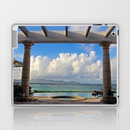 Caribbean pool Laptop & iPad Skin