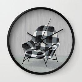 Buffalo Chair Wall Clock