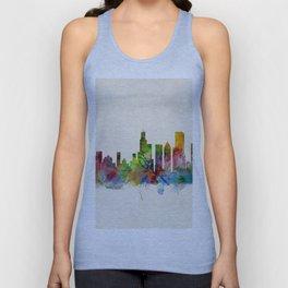 Chicago City Skyline Unisex Tank Top