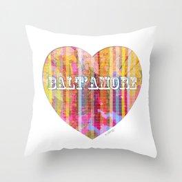 Balt'Amore - Pink Throw Pillow