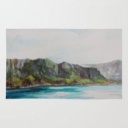 Napali Coast Dreaming Rug
