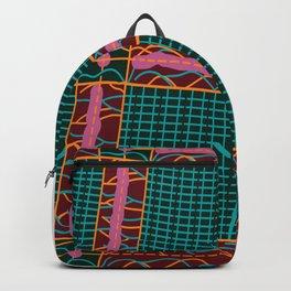 Kente Cloth Design Backpack