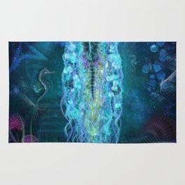 Luminescent Jellyfish Rug