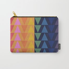 Day and Night Rainbow Triangles Carry-All Pouch