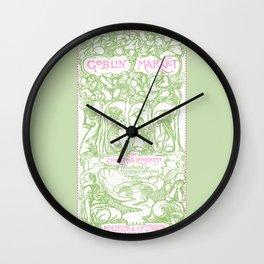 Goblin Market Wall Clock