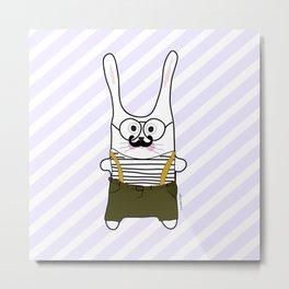 happy bunny boy Metal Print