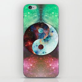 Ying-Yang Galaxy iPhone Skin