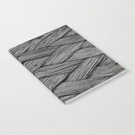 Steel Braided Strap Notebook