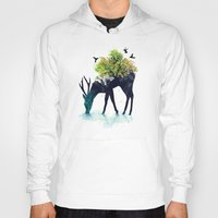 budi Hoodies featuring Watering (A Life Into Itself) by Picomodi