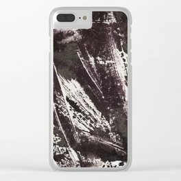 Abstract No. 72 Clear iPhone Case
