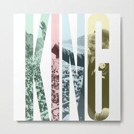 King - Martin Luther King Metal Print