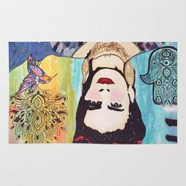 Psychedelic Frida Rug