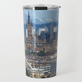 Glasgow University and Ben Lomond Travel Mug