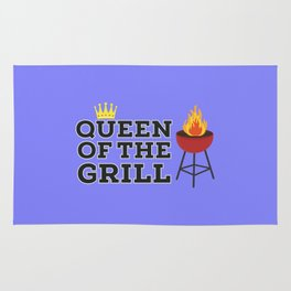 Queen of the grill Rug