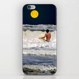 Moonlight Surf iPhone Skin