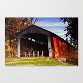 Neet Covered Bridge ~ Rockville, Indiana Canvas Print