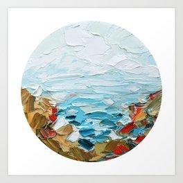 Pacific Shore No. 2 Art Print