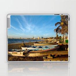 Mazatlan Beach & Boats Laptop & iPad Skin