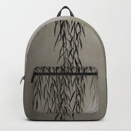 Willow in the moonlight Backpack