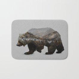 The Kodiak Brown Bear Bath Mat