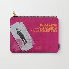 Indagine su un cittadino al di sopra di ogni sospetto, movie poster, Elio Petri, italian cinema Carry-All Pouch