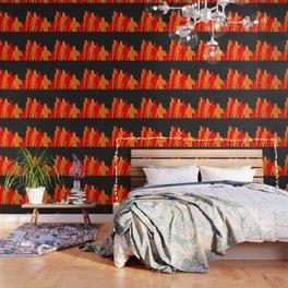 The Bat Retro Wallpaper
