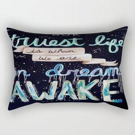 Our Truest Life Rectangular Pillow