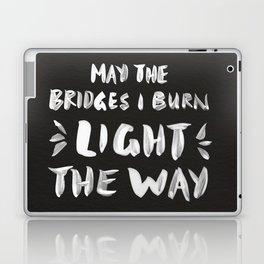 Burned Bridges – Black & White Laptop & iPad Skin