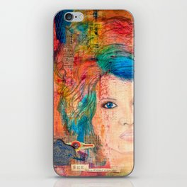 Tousled iPhone Skin