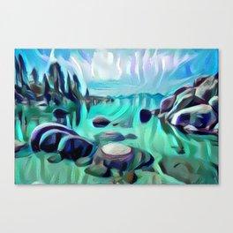 Sand Harbor Canvas Print