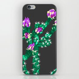 Flowering Cactus iPhone Skin